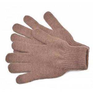 Перчатки детские унисекс черно-серые,бежево-коричневые