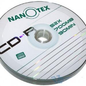 CD-R Nanotex 700Mb 52x bulk (90мин.)(50)