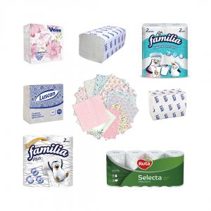 Бумажные салфетки и полотенца