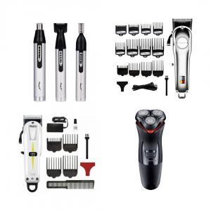Триммеры и машинки для стрижки волос, электробритвы мужские