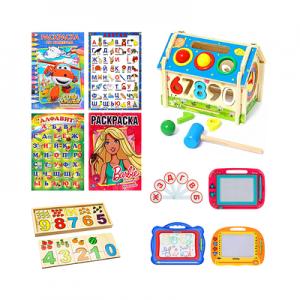 Розмальовки, Книжки, Навчальні ігри